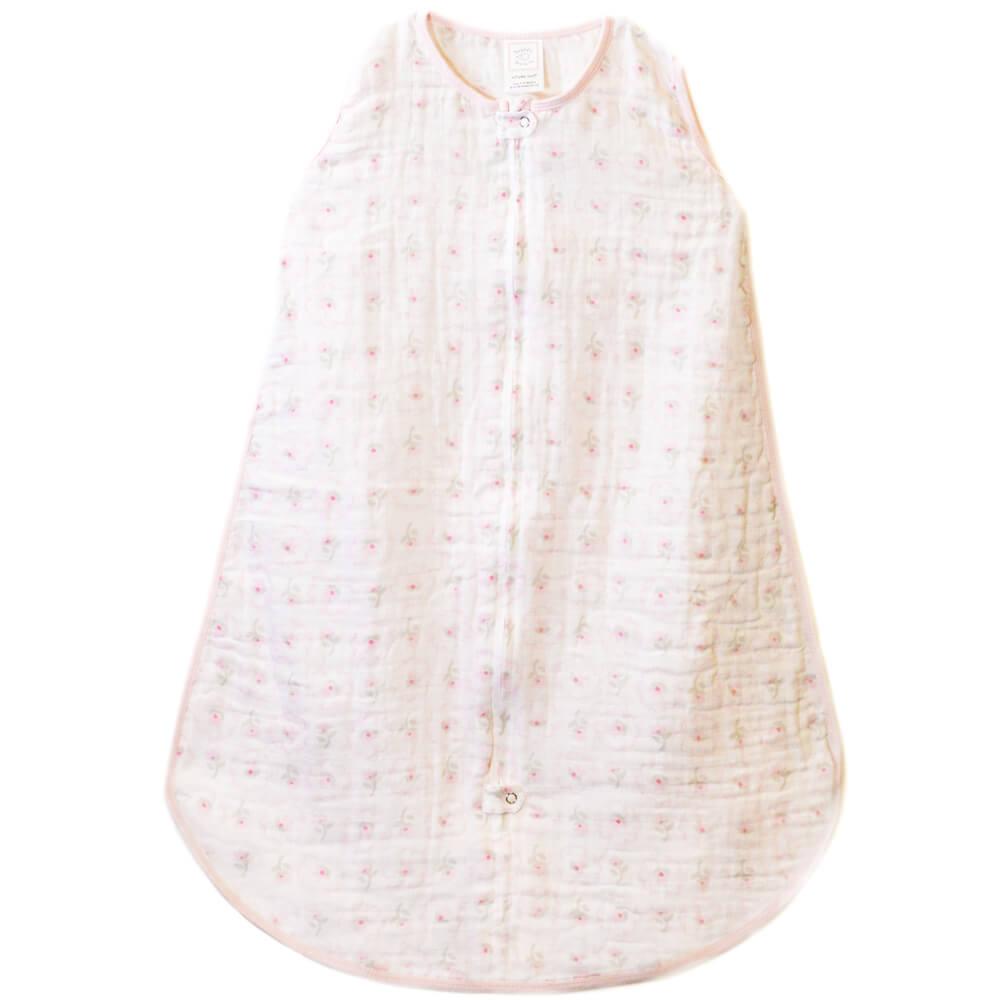 Спальный мешок Muslin zzZipMe Sack Pink Posies 6-12м