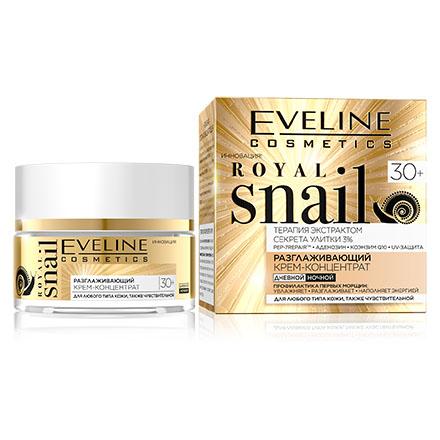 Купить Крем-концентрат для лица Eveline Royal Snail 30+, 50 мл