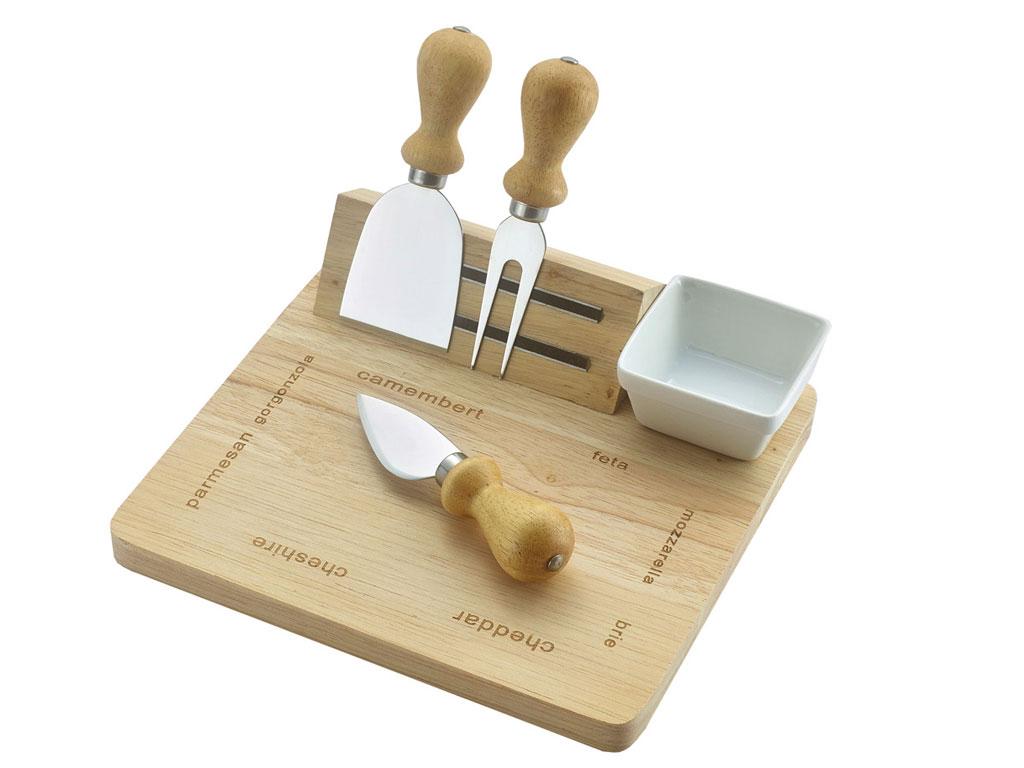 Набор для сыра, Regent Inox, Linea FORMAGGIO, 5 предметов