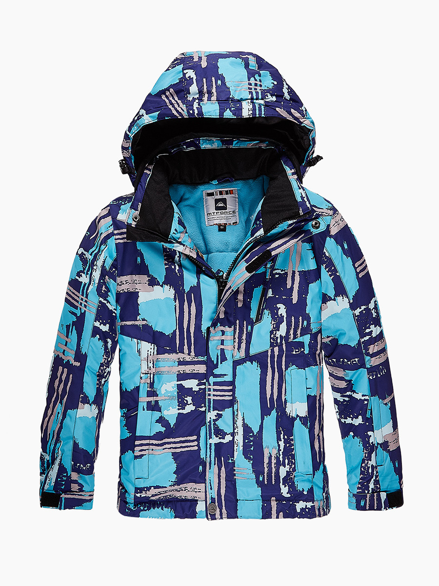 Куртка горнолыжная для девочки MTFORCE 1773Gl голубая,