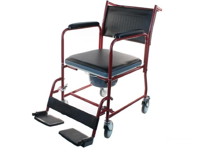 Кресло коляска (каталка) с туалетным устройством