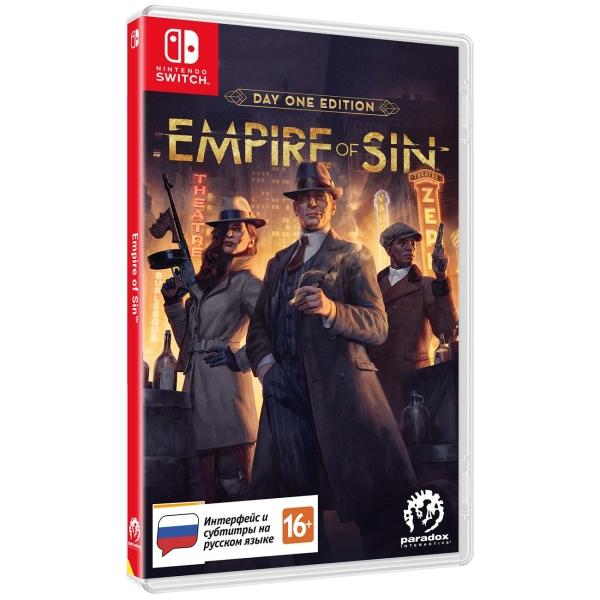 Игра Empire of Sin. Издание первого дня для Nintendo Switch Paradox Interactive