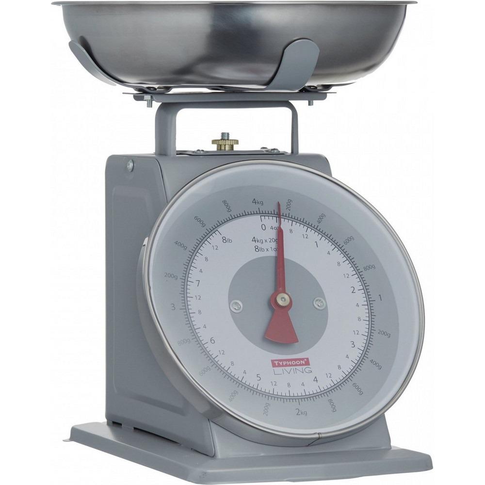 Весы кухонные Typhoon Living 1400.149V Grey