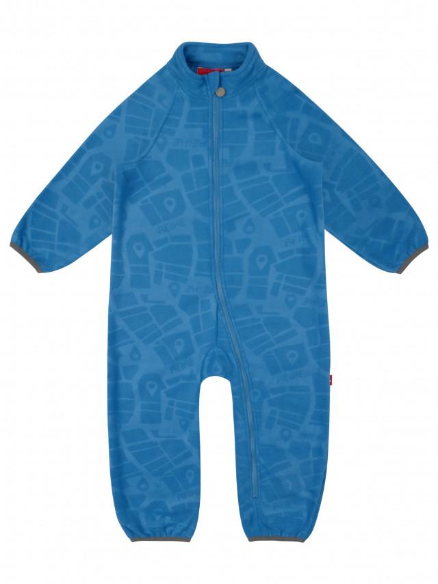 Комбинезон флисовый детский Reike Quadcopter blue,