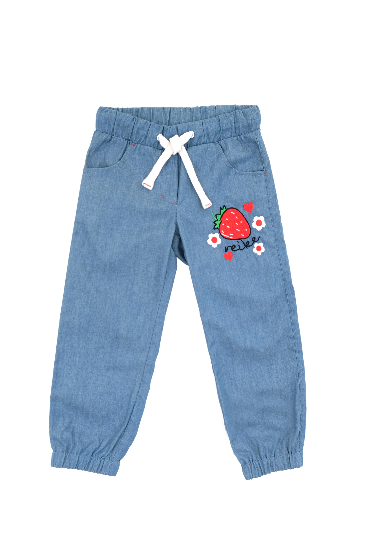 Джинсы для девочки Reike, RKS010SS20TTF blue jeans, 86-52 18 мес.