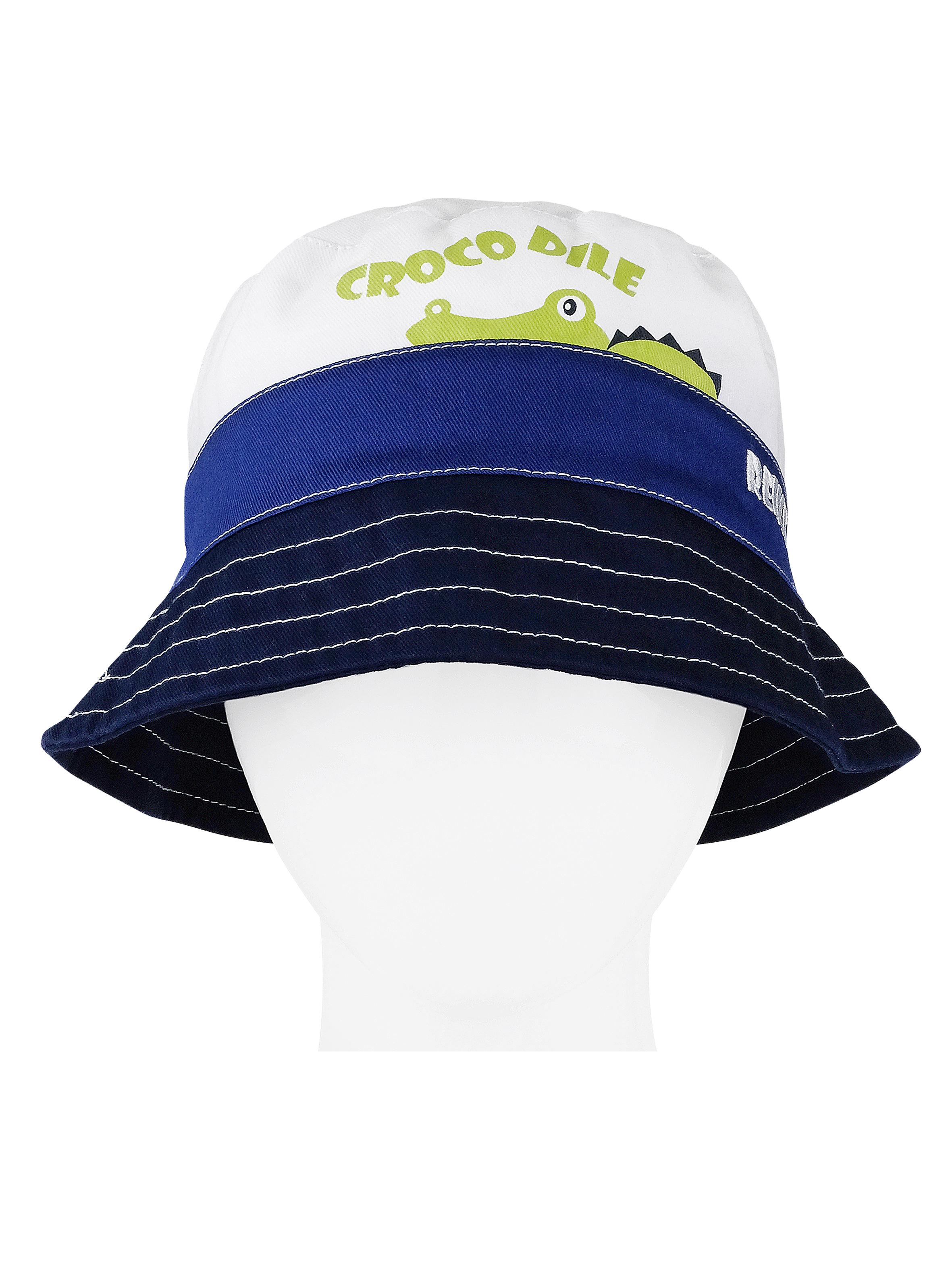 Панама для мальчика Reike Crocodiles blue, RWSS20