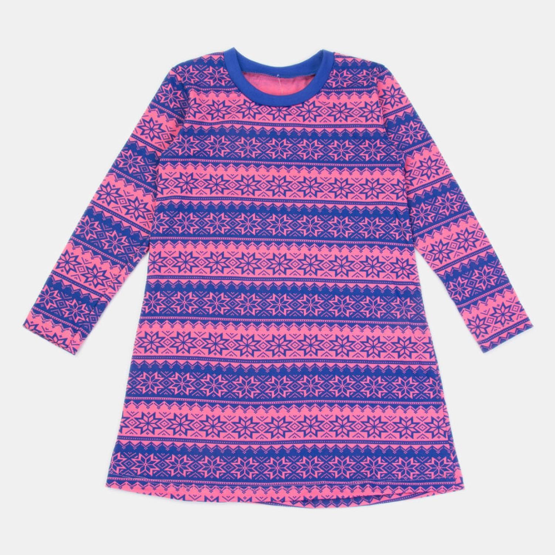 Платье детское КотМарКот цв. синий р.122 2530765