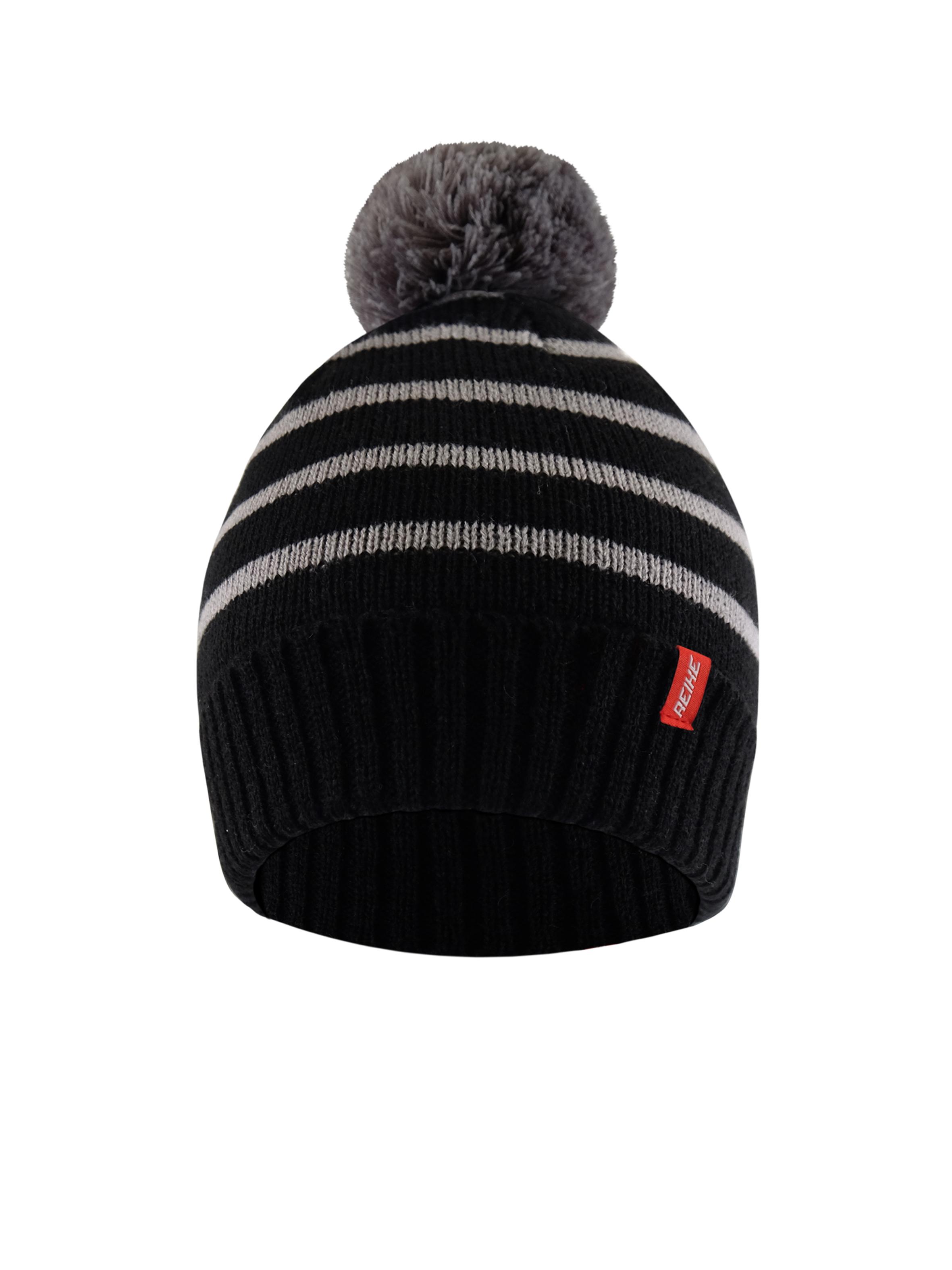 Купить Шапка для мальчика Reike GEO black, RKN2021-2 GEO black, р.52,