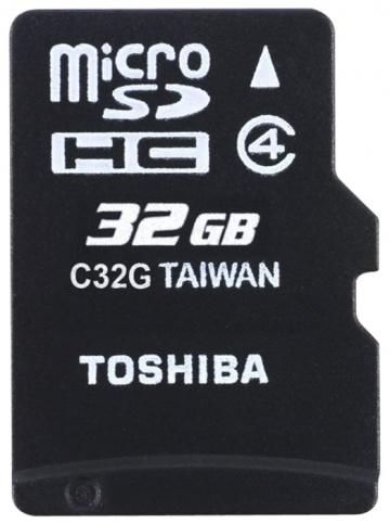 Карта памяти Toshiba Standart microSD 32GB