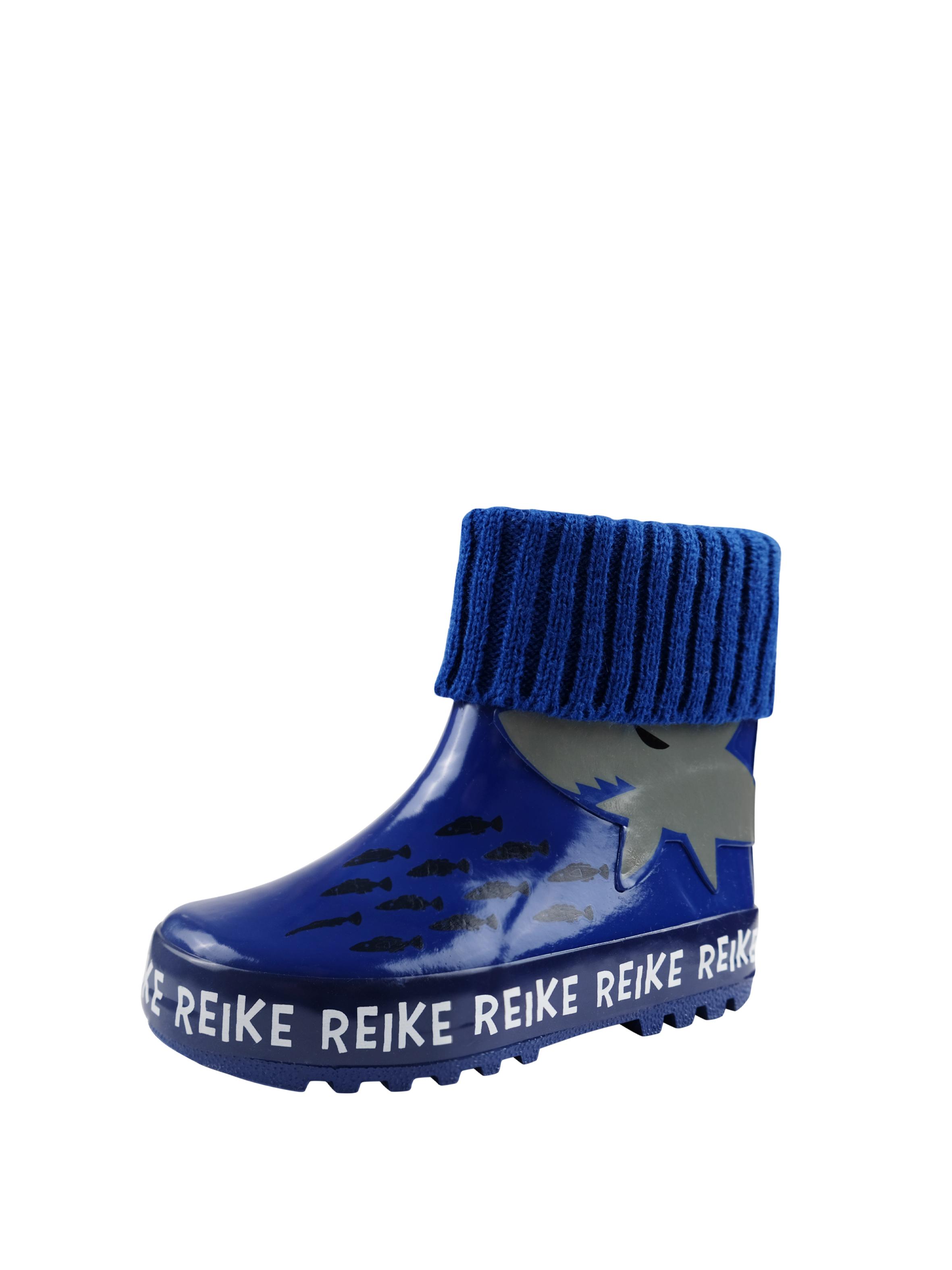 Резиновые сапоги для мальчика Reike Small sharks blue, RRR20-016 SSH blue, 25