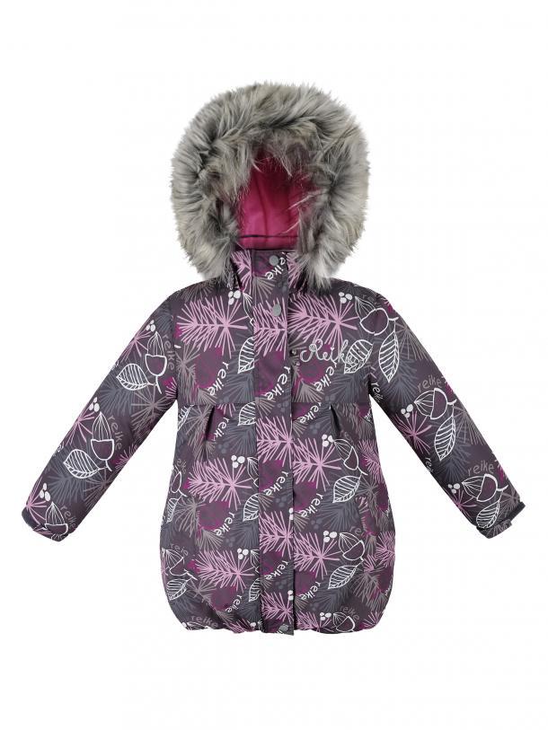 Куртка для девочки Reike Nature grey,