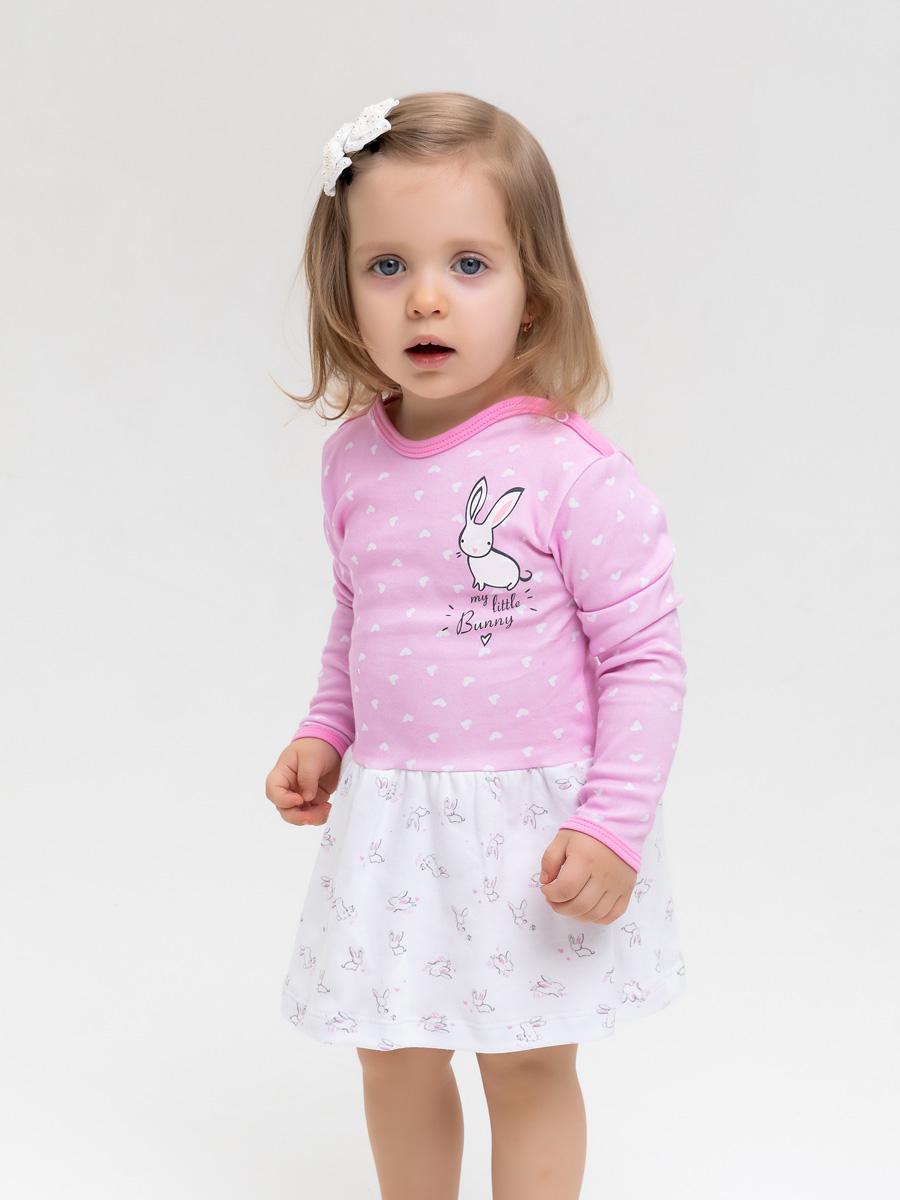 Платье Белый кролик КОТМАРКОТ 2000700 р.98