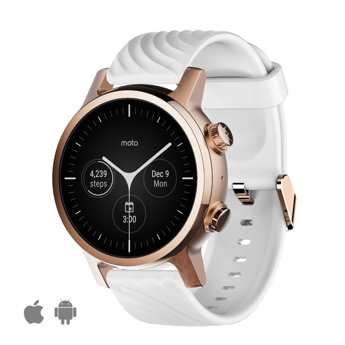 Смарт-часы Motorola Moto 360 3rd GEN Stainless Steel (2020) Rose Gold Moto 360 3rd GEN 2020