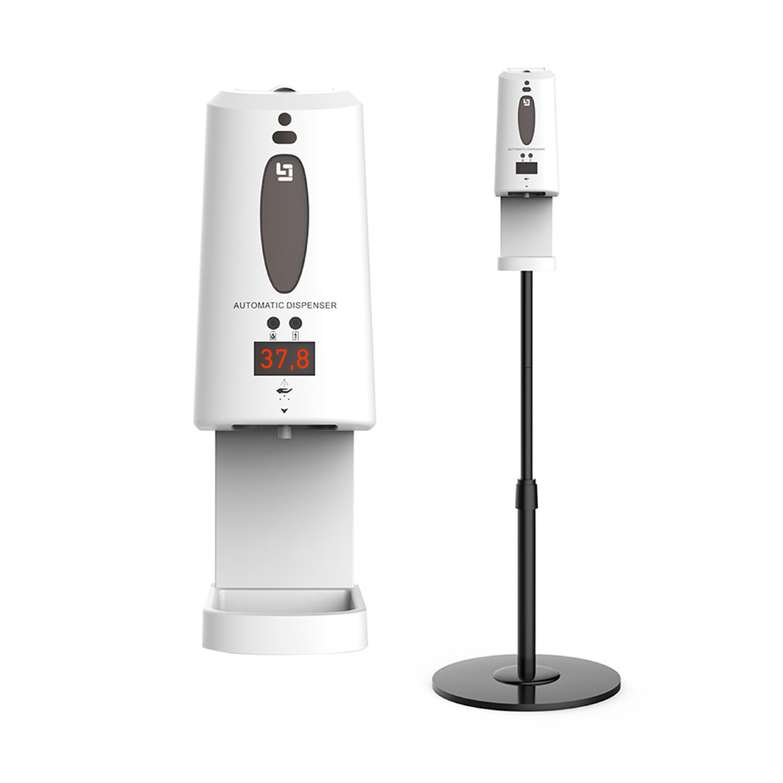 Сенсорный дозатор для антисептика с измерением температуры
