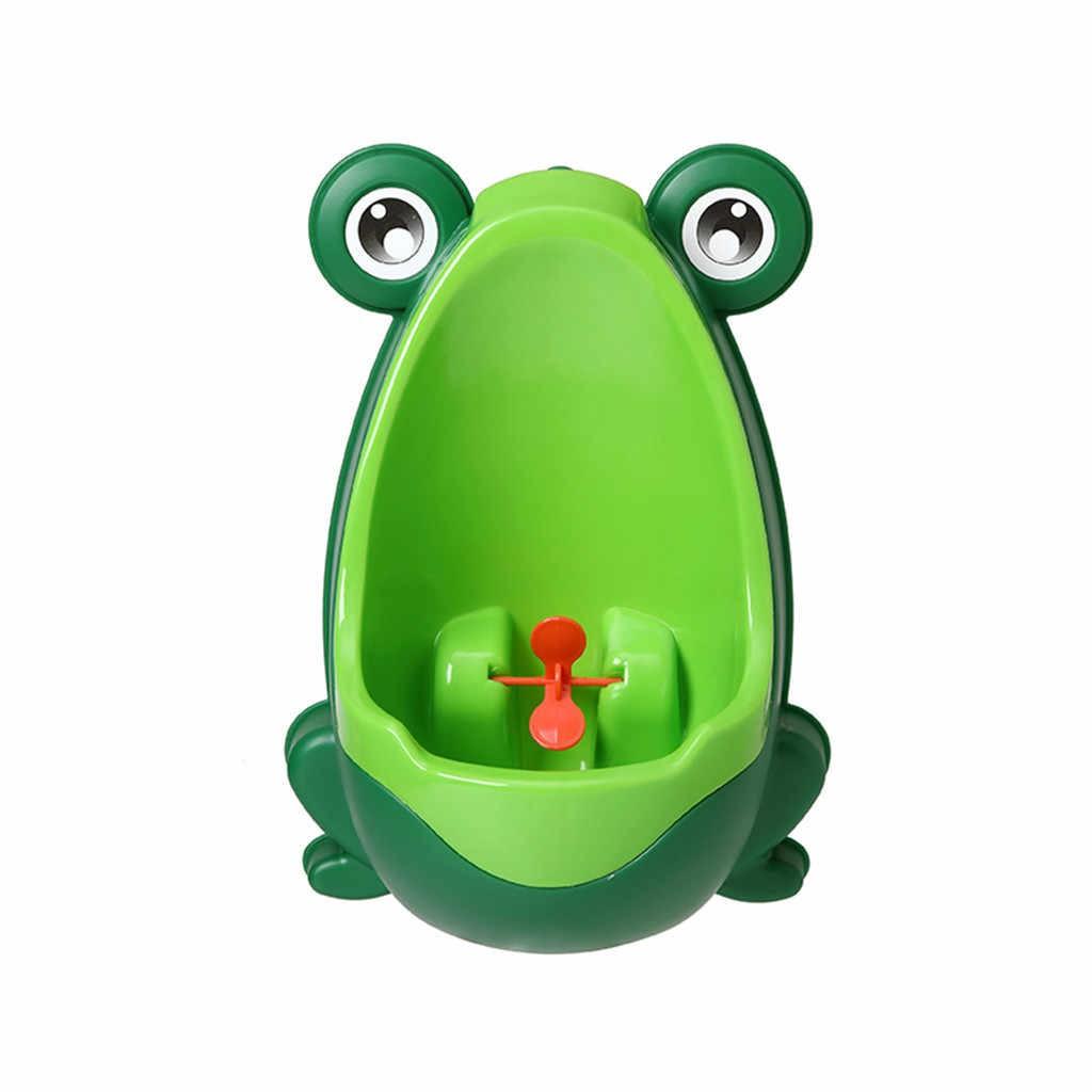Писсуар для мальчиков с прицелом Лягушка, зелёный/салатовый NoBrand 101880