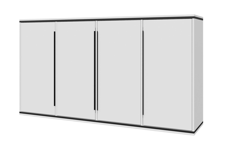Шкаф навесной SCANDICA Wilma