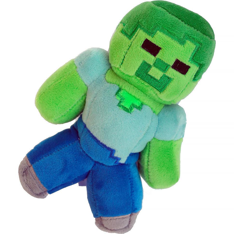 Плюшевая игрушка Lele Зомби из Майнкрафт,