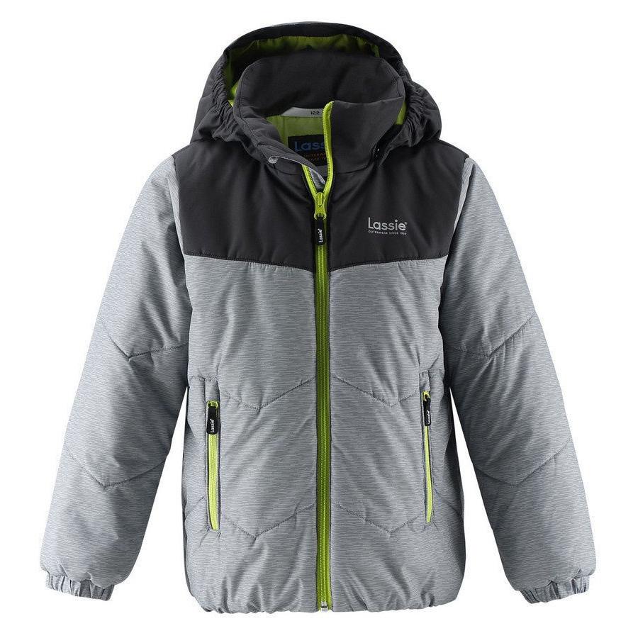 Купить Куртка для мальчика Miitro Lassie, Размер 128, Цвет 9311-светло-серый 721761-9311_128,