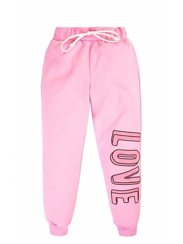 Купить 342859_розовый, Брюки Elaria 342859 цв.розовый р.122,