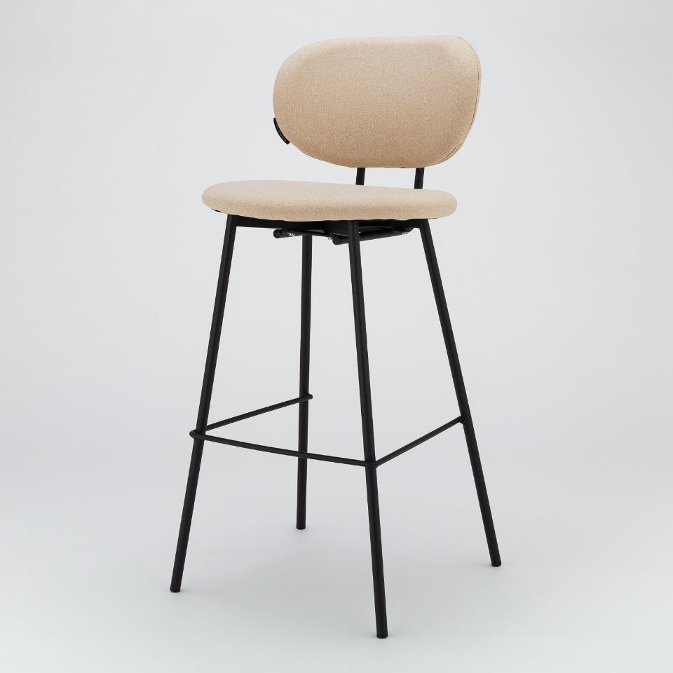 Барный стул Melt бежевый StoreForHome /