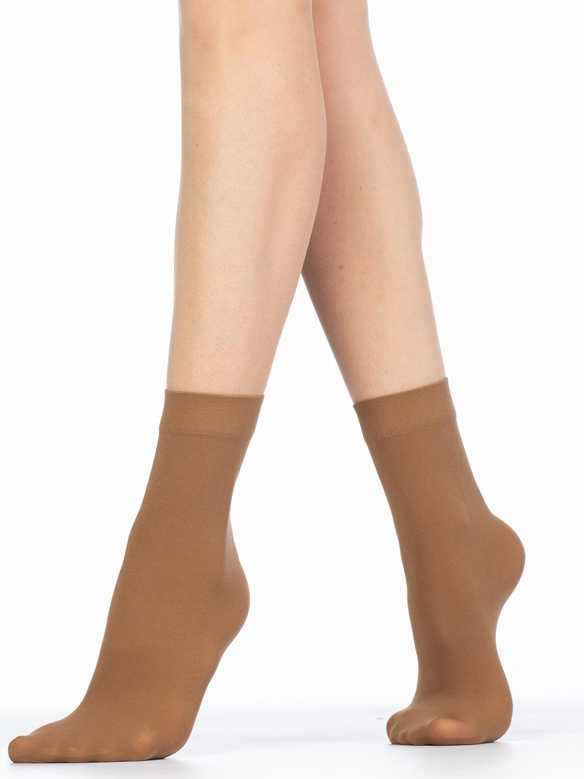 Капроновые носки женские Giulia BLUES 50 microfibra бежевые UNI