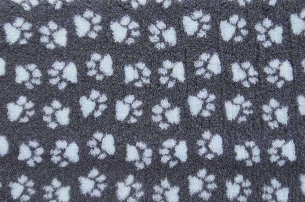 Коврик для собак ProFleece полиэстер, угольный, голубой,