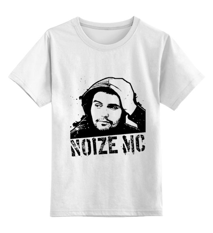 Детская футболка Printio Noize mc цв.белый р.140 0000000891802 по цене 890