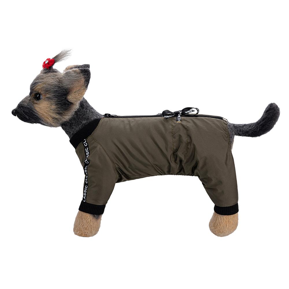 Комбинезон для собак Dogmoda Классик, унисекс, коричневый,
