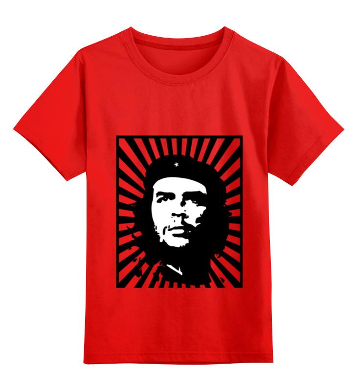 Детская футболка Printio Чегевара цв.красный р.152 0000000795180 по цене 990