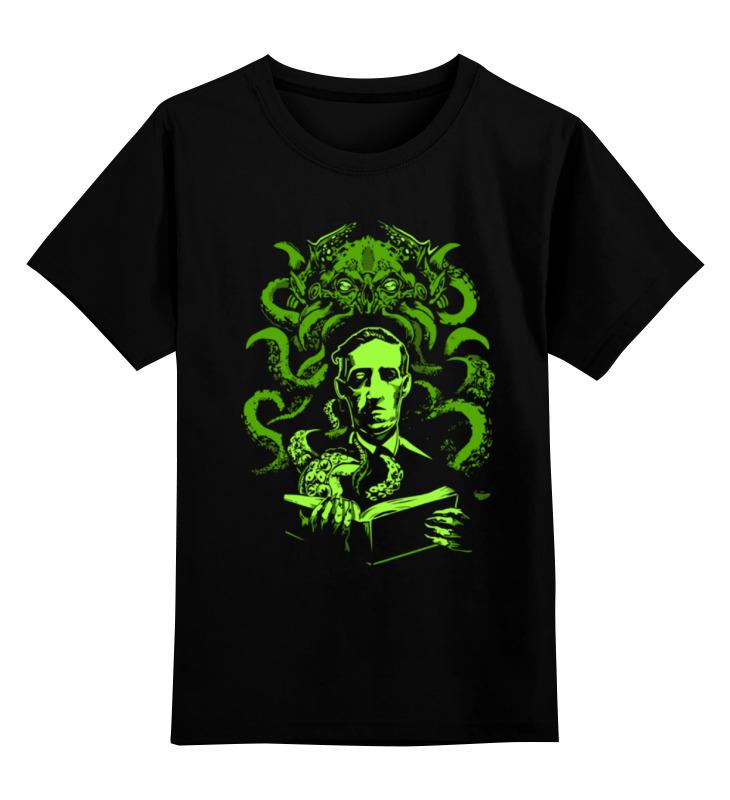 Детская футболка Printio Ктулху cthulhu цв.черный р.152 0000000786669 по цене 990