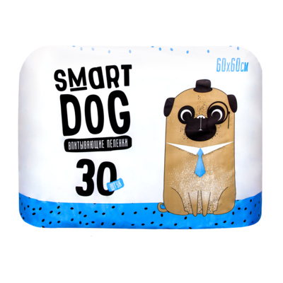 Пеленки для домашних животных Smart Dog впитывающие