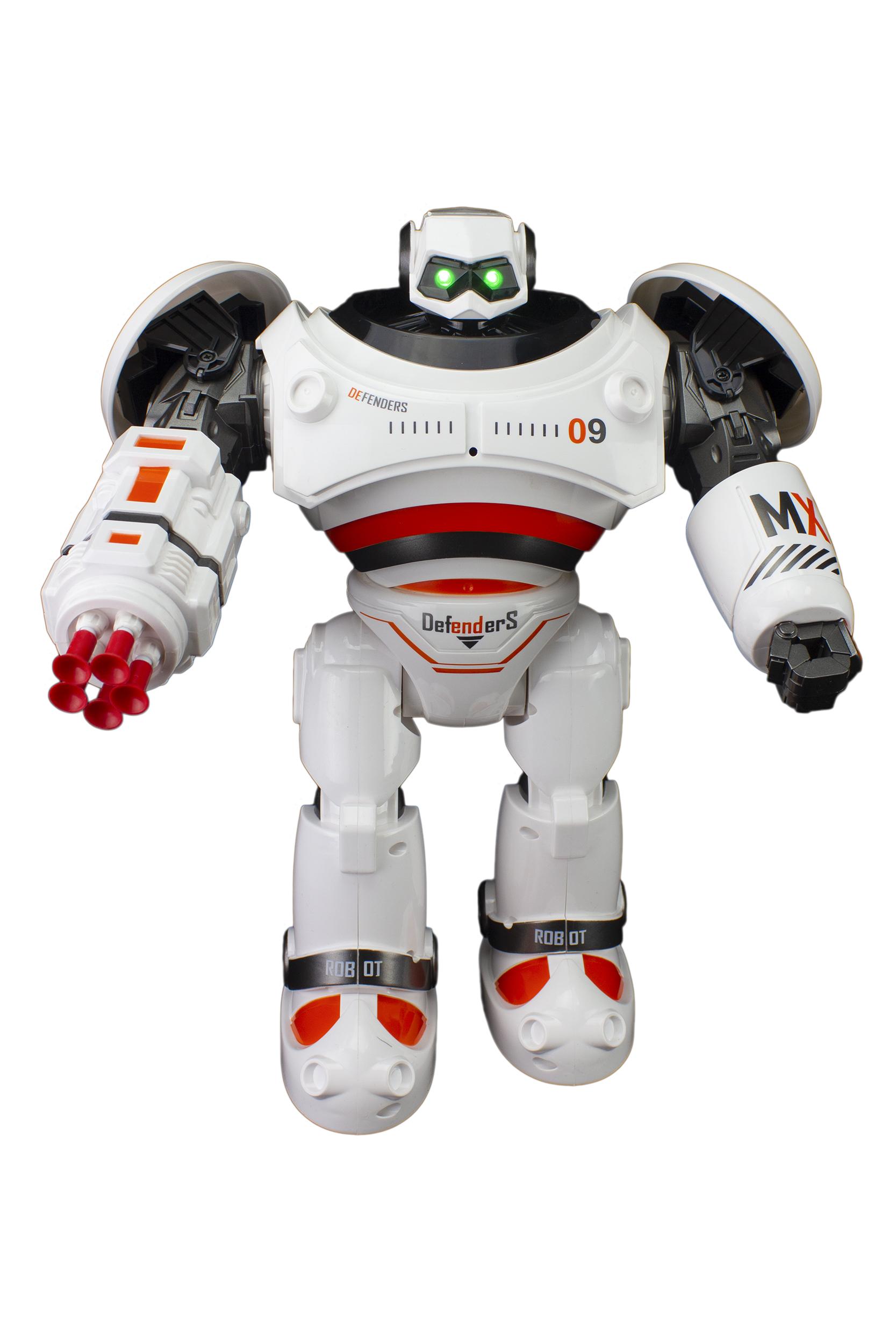 Купить Радиоуправляемый робот CRAZON RC65733 Defenders оранжевый,