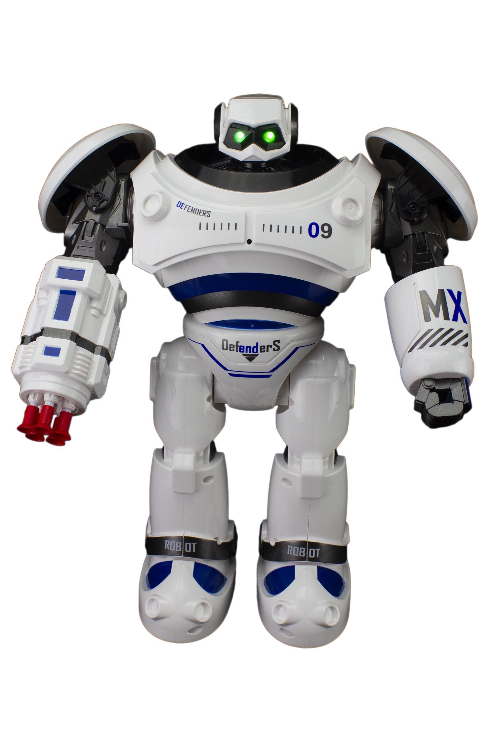 Радиоуправляемый робот CRAZON RC65732 Defenders синий.,  - купить со скидкой