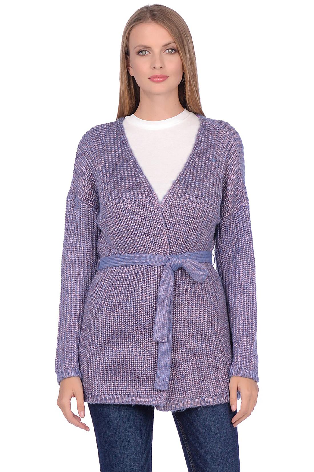 Кардиган женский Baon B149502 фиолетовый XXL