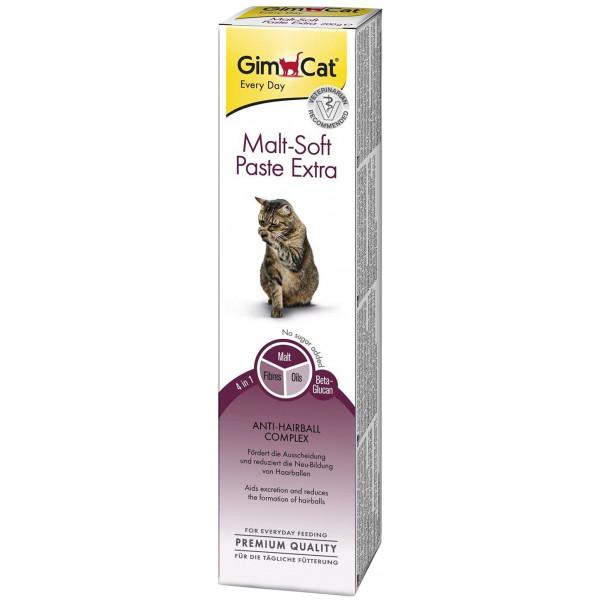 Паста Gimcat Мальт Софт Экстра для кошек