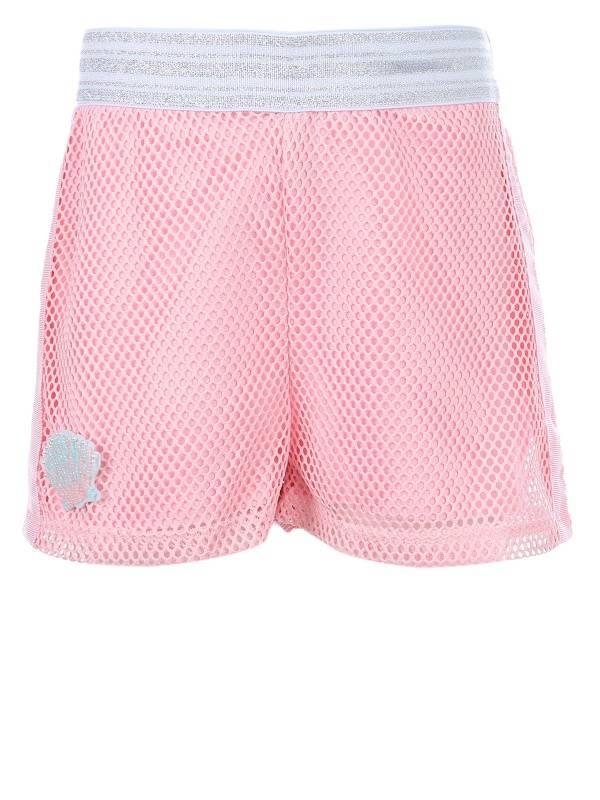 Купить 321633_розовый, Юбка-шорты Choupette 321633 цв.розовый р.110,