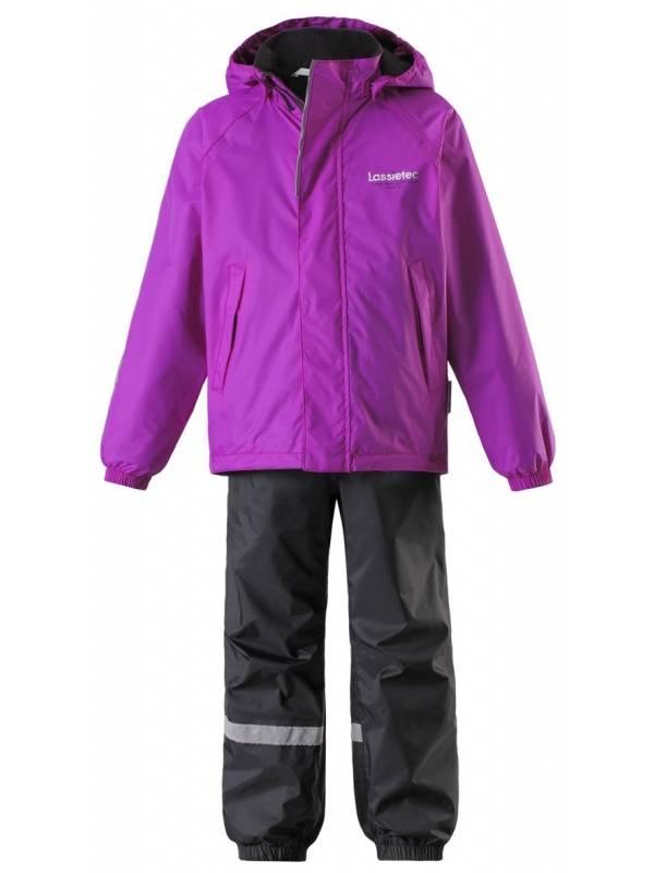 Комплект детской одежды LASSIE 256767 цв.фиолетовый р.92
