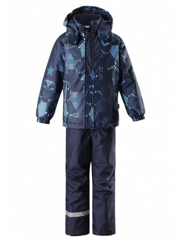 Комплект детской одежды LASSIE, цв. синий р.98