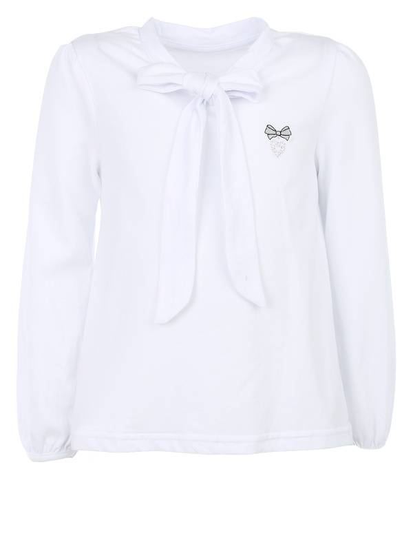 Блузка Апрель 200785 цв.белый р.116 200785_белый