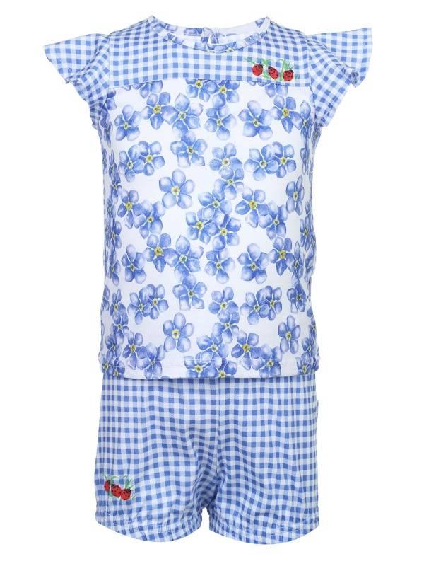 Комплект детской одежды Апрель 182681 цв.белый р.74