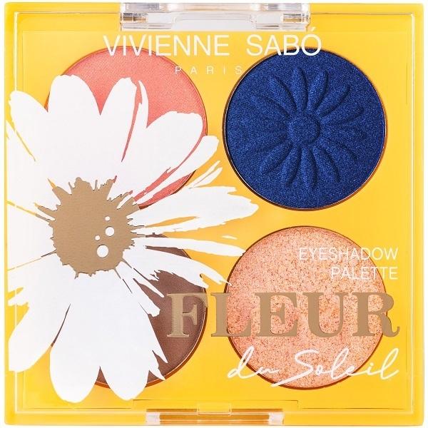Палетка теней Vivienne Sabo Fleur du soleil,