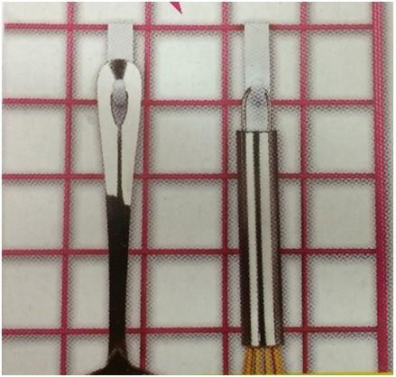 Пластиковые крючки держатели для сетки, 8