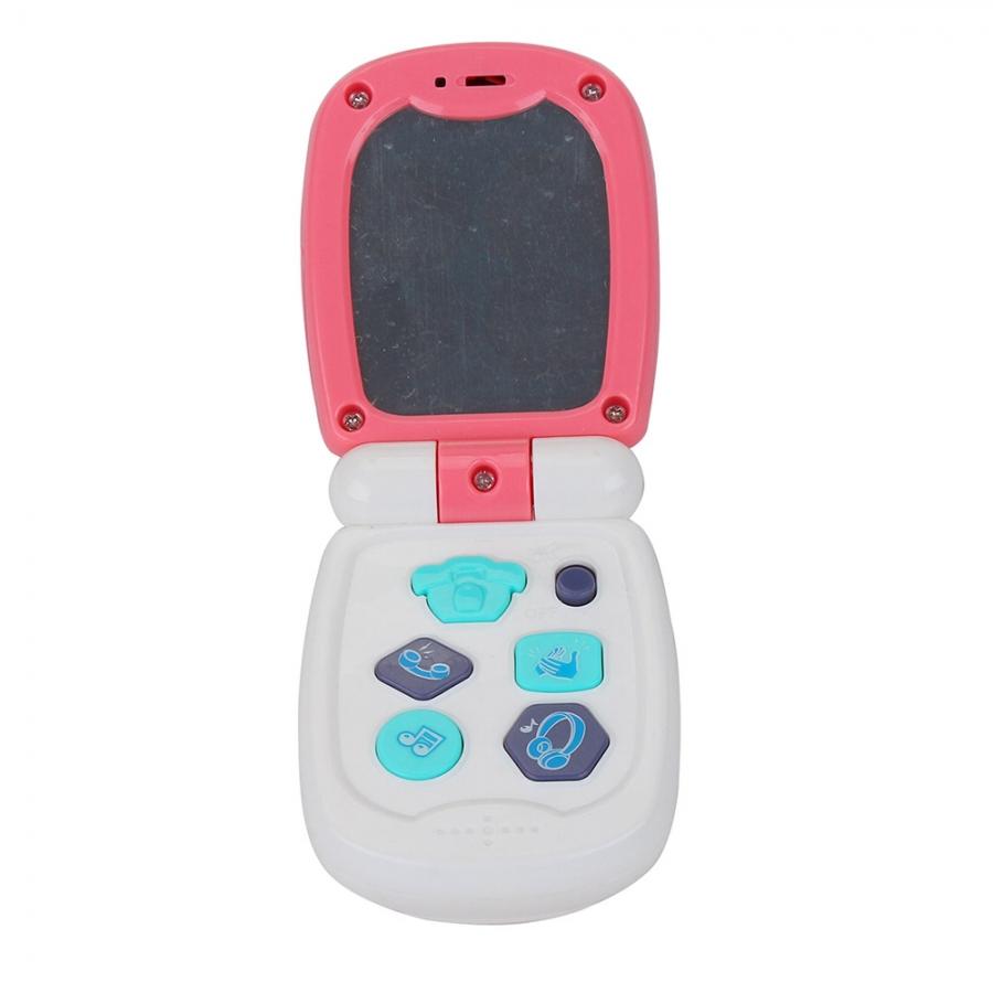 Развивающая игрушка Pituso Музыкальный телефон розовый