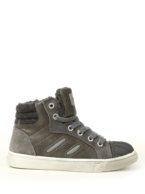 Ботинки ZEBRA 458039 цв.серый р.33 Зебра