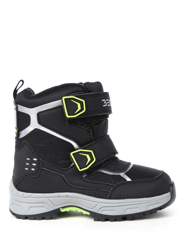 Ботинки ZEBRA 461509 цв.черный р.25 Зебра