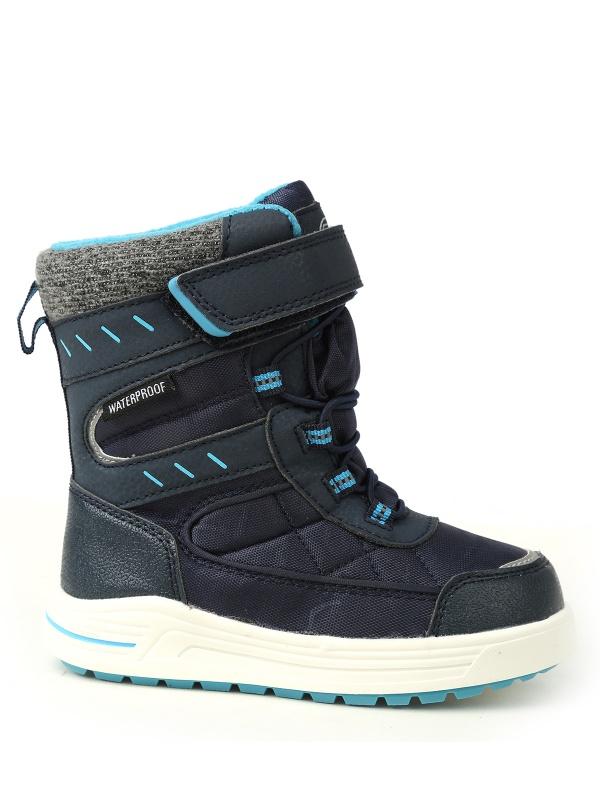 Ботинки ZEBRA 458072 цв.синий р.32 Зебра 458072_синий