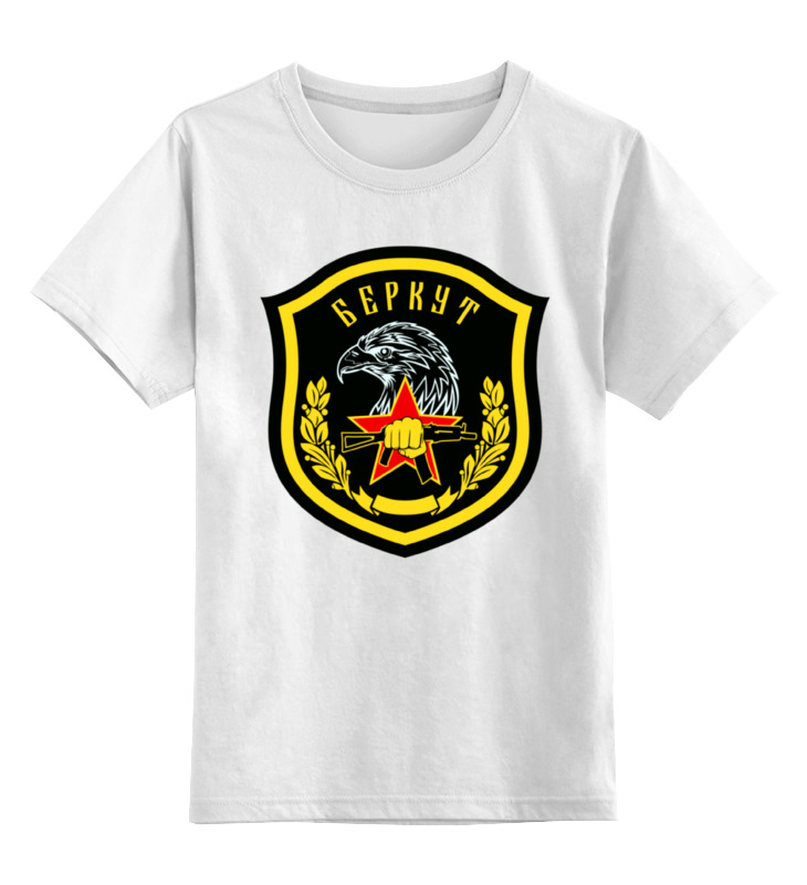 Детская футболка Printio Беркут цв.белый р.104 0000000788722 по цене 790