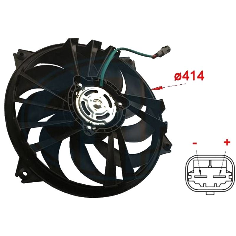 Вентилятор охлаждения Era 352011