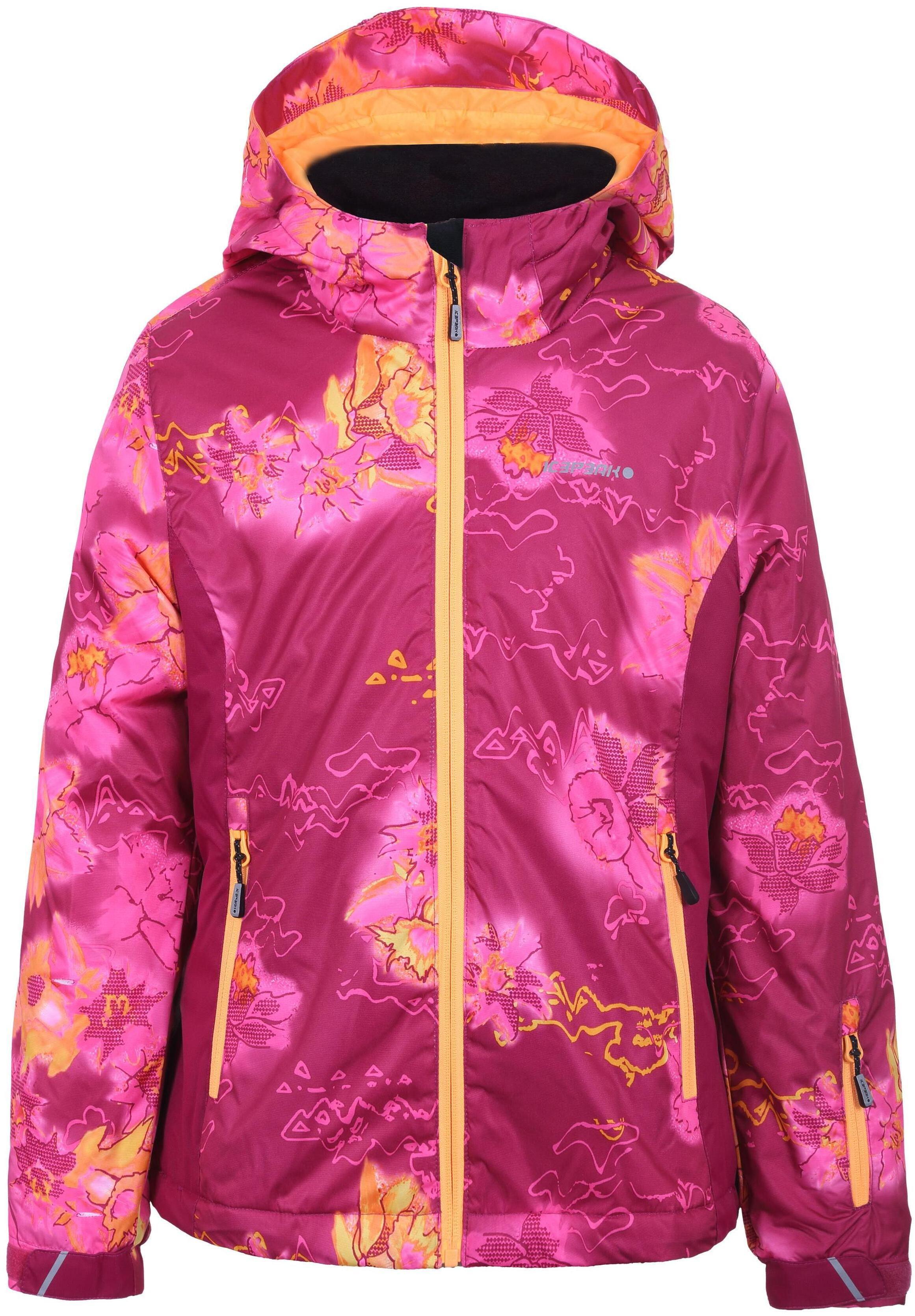 Купить Куртка горнолыжная Icepeak 2019-20 Linn Jr Hot Pink, р. 164,