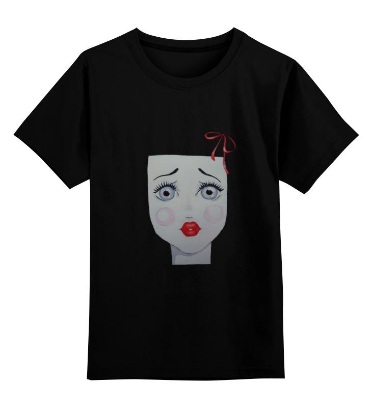 Детская футболка Printio немое лицо цв.черный р.116 0000000791179 по цене 990